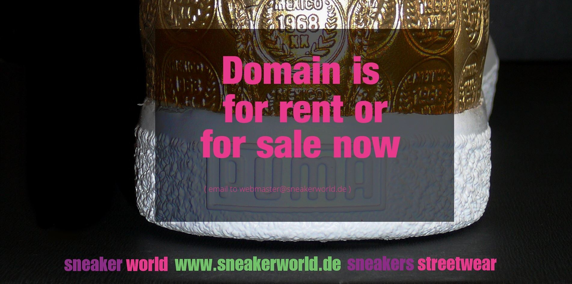 sneakerworld.de - domain for rent or for sale now
